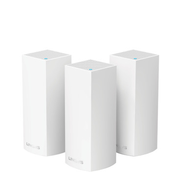 LINKSYS VELOP WHOLE HOME MESH WI-FI SYSTEM TRI-BAND PACK OF 3