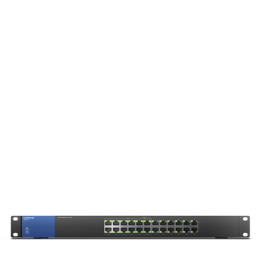 LINKSYS UNMANAGED 24 PORT SWITCH - LGS124P